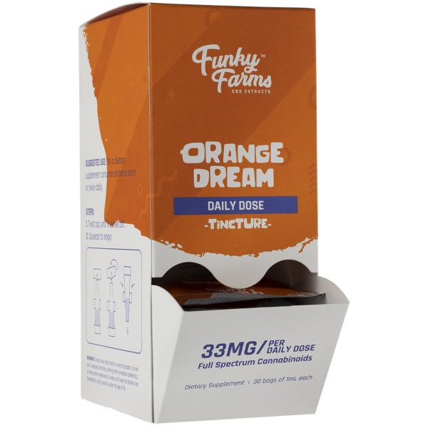 Funky Farms Orange Dream Daily Dose Tincture