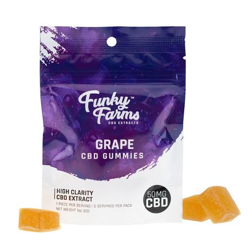 FF Grape CBD Gummies 1pk