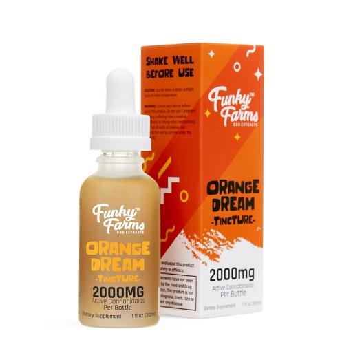 FF Orange Dream Tincture 2000mg