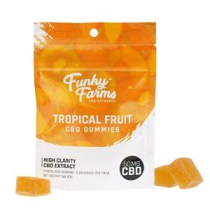 FF Tropical CBD Gummies 1pk