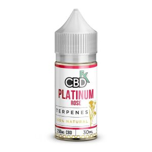 CBDfx Platinum Rose CBD Terpenes Oil 30ml