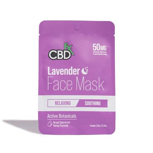 CBDfx Lavender 50mg FaceMask