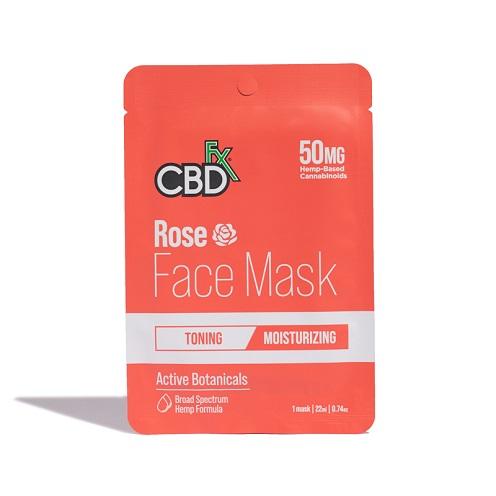 CBDfx Rose 50mg FaceMask