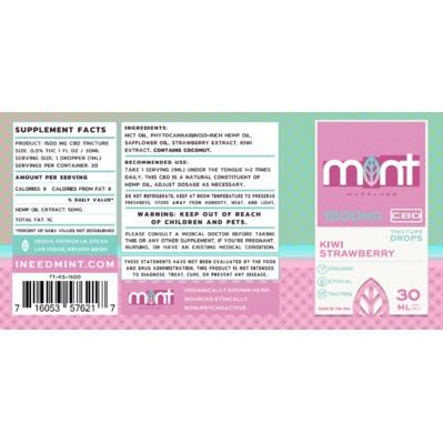 MW Kiwi Straw Tinct Label