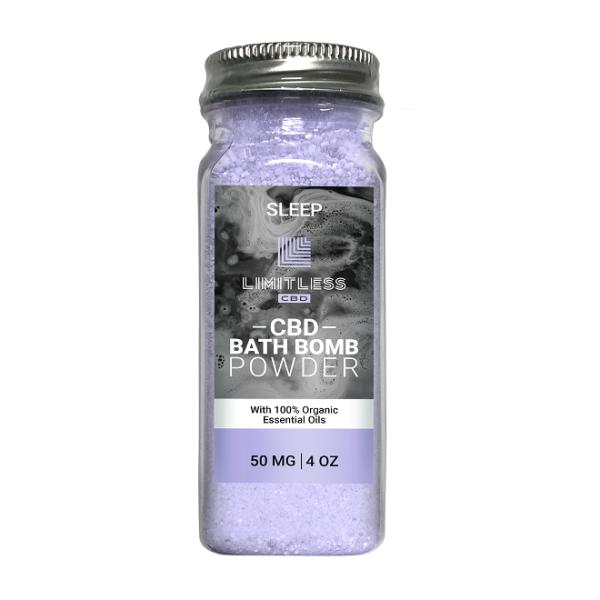 Limtless Sleep Bath Bomb Powder