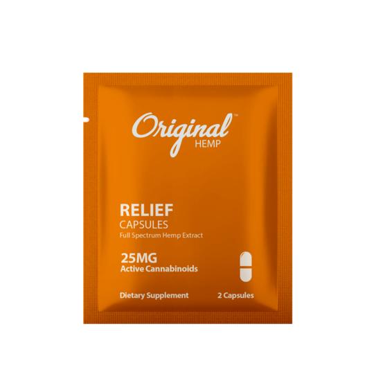 Original hemp relief capsule