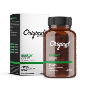 Original hemp energy capsules