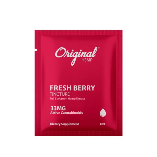 Original hemp freash berry tincture