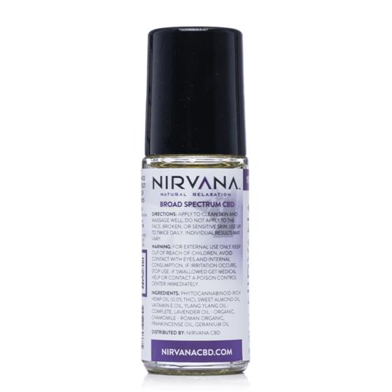 Nirvana Cbd Roll On 30ml