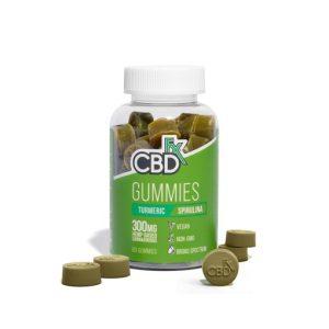 CBDfx Turmeric Spirulina Gummies