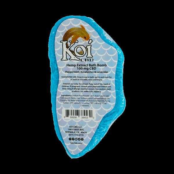 Koi Hemp Extract CBD Bath Bomb