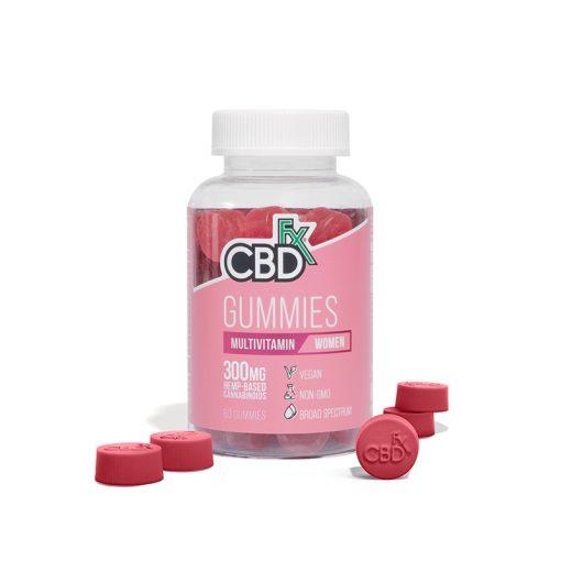 CBDfx Women Multi Gummies