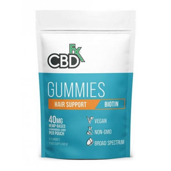 CBD Gummies Hair Support