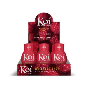 koi Raspberry Wellness Shots