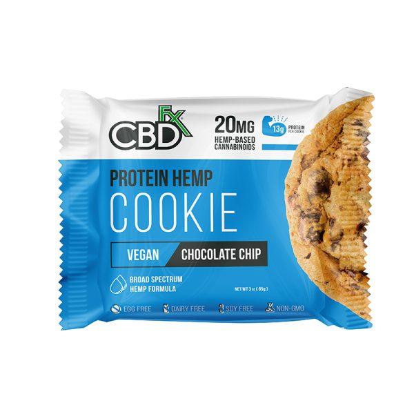 CBDfx Protein Cookie Chocolate Chip