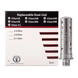 Innokin iClear16 Dual Coil Replacement Coil 5PK