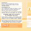 Mint Wellness CBD Lemon Custard Tincture Drops Ingredient 1500MG