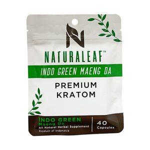 Indo Green Maeng Da Kratom 40 Capsules