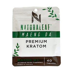 Maeng Da Kratom 40 Capsules