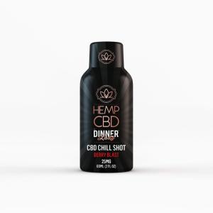 Dinner Lady CBD Berry 25mg Energy Shot