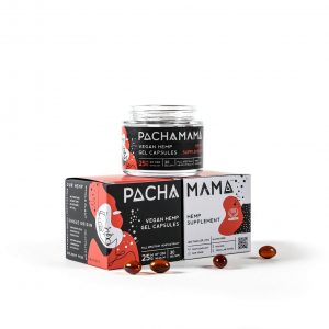 Pachamama CBD Vegan Gel Capsules - 750MG - 30