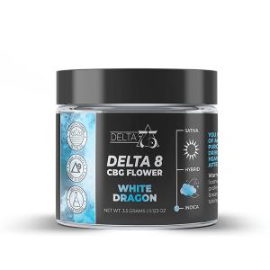 Delta 75 White Dragon Delta 8 CBG Hemp Flower