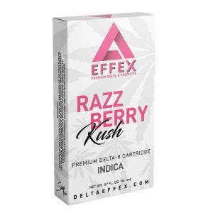 Delta Effex Razzberry Kush Delta 8 Indica Cartridge
