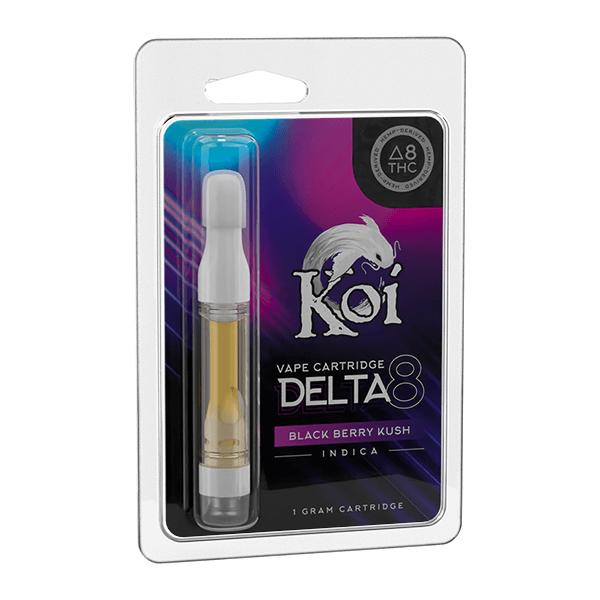 Koi Delta 8 Blackberry Kush Cartridge