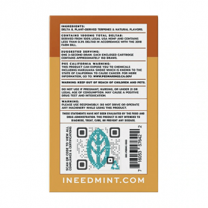 Mint Wellness PB Breath & Lemon Mac Zaza DUO Delta-8 Cartridges