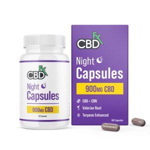 CBDFX Night Capsules 900MG
