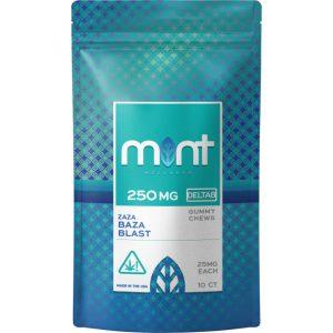 Mint Wellness Delta-8 Baza Blast Gummy Chews