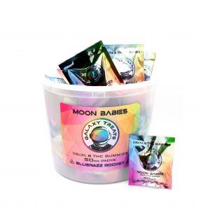Moon Babies Bluerazz Delta 8 Gummies Bucket