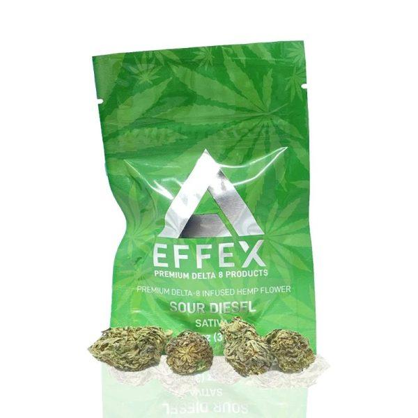 Delta Effex Sour Diesel Delta 8 Hemp Flower