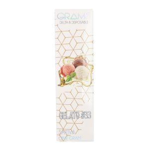 Kalibloom Grams Gelato 33 Delta 8 Disposable Vape Device