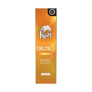 Koi Delta 8 Sunset Gelato 1000MG Disposable Vape Bar