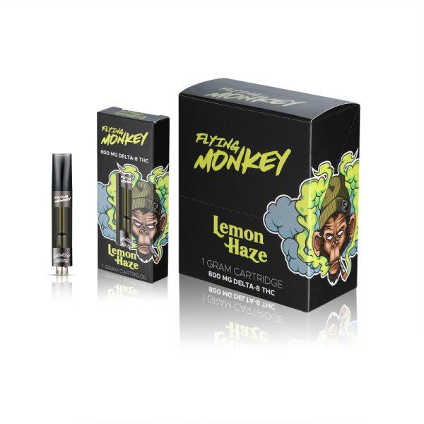 Flying Monkey Lemon Haze Delta 8 Cartridge-Sativa