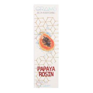 Kalibloom Grams Papaya Rosin Delta 8 Disposable Vape Device