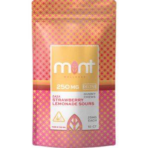 Mint Wellness Delta-8 Zaza Blast Gummy Chews 250mg