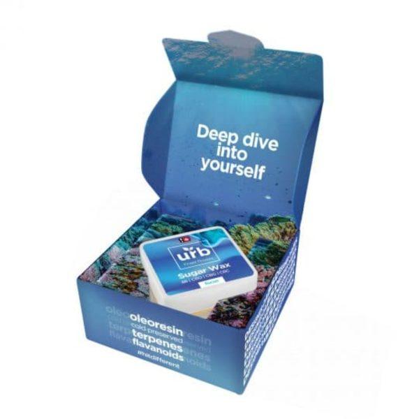URB Delta 8 THC Sugar Wax Designer Dab
