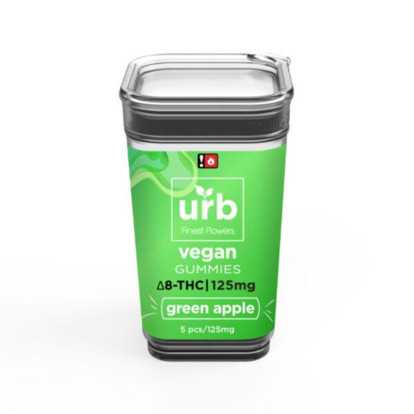 URB Delta 8 Tropical Lush Vegan Gummies