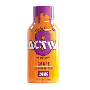 Activ-8 Grape Delta 8 Hemp THC Shot