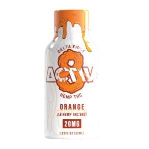 Activ-8 OrangeDelta 8 Hemp THC Shot