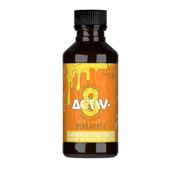 Activ-8 Pineapple Delta 8 Hemp THC Shot