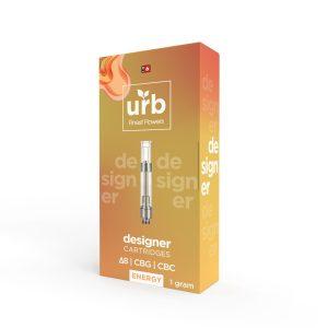 URB Delta 8 THC Pink Cookies Disposable Vape