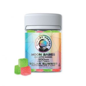 Moon Babies Solar Summer Delta 8 Gummies 500mg
