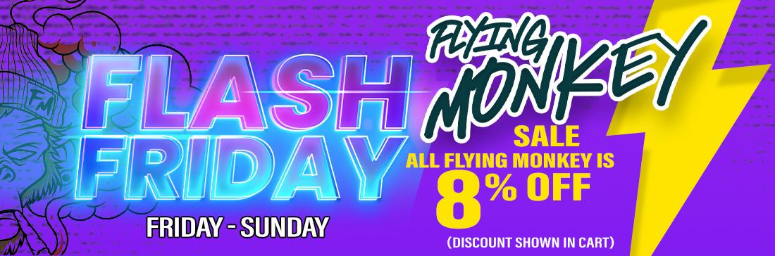 Flash Friday Flying Monkey banner